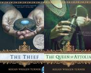 The The Queen's Thief Publication Order Book Series By  Megan Whalen Turner