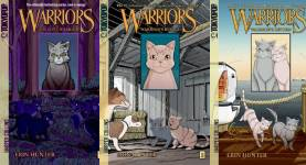 The Warriors: Manga Graystripe's Trilogy Publication Order Book Series By  Erin  Hunter