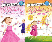 The Pinkalicious I Can Read! Publication Order Book Series By  Victoria  Kann