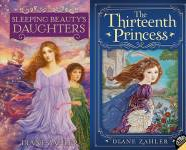 The Fairy Tale Princesses Publication Order Book Series By  Diane  Zahler