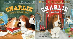 The Charlie the Ranch Dog Picture Books Publication Order Book Series By  Ree  Drummond
