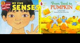 Let's-Read-and-Find-Out Science, Stage 1 Book Series