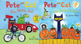 The Pete the Cat Publication Order Book Series By  Eric  Litwin