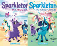 The Sparkleton Publication Order Book Series By  Calliope  Glass