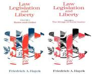 The Law, Legislation and Liberty Publication Order Book Series By  F A Hayek