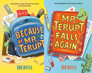 The Mr. Terupt Publication Order Book Series By  Rob  Buyea