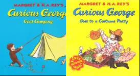 The Curious George New Adventures Publication Order Book Series By
