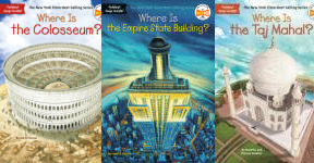 The Where Is... Publication Order Book Series By  Dina  Anastasio