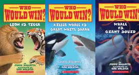The Who Would Win?  Publication Order Book Series By   Jerry  Pallotta