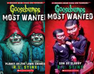 The Goosebumps Most Wanted Publication Order Book Series By  R L Stine