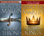 The A Song of Ice and Fire Publication Order Book Series By  Gardner  Dozois