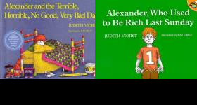 The Alexander Publication Order Book Series By  Judith  Viorst