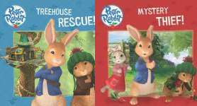The Peter Rabbit Animation Publication Order Book Series By  Beatrix  Potter