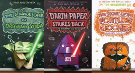 The Origami Yoda  Publication Order Book Series By   Tom  Angleberger