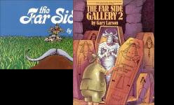The The Far Side Gallery Anthologies Publication Order Book Series By  Gary  Larson
