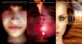 The Unremembered  Publication Order Book Series By   Jessica  Brody