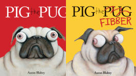 The Pig the Pug Publication Order Book Series By  Aaron  Blabey