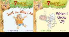The The Seven Habits of Happy Kids Publication Order Book Series By  Stephen R Covey