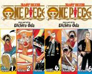 The One Piece: Omnibus Publication Order Book Series By