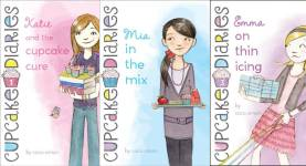 The Cupcake Diaries Publication Order Book Series By  Coco  Simon