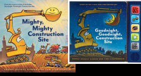 The Goodnight, Goodnight, Construction Site Publication Order Book Series By  Sherri Duskey Rinker