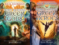 The Percy Jackson and the Olympians Publication Order Book Series By