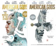 The Neil Gaiman's American Gods: The Shadows Publication Order Book Series By  Neil  Gaiman