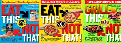 The Eat This, Not That! Publication Order Book Series By  David  Zinczenko