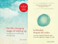 The Magic Cleaning Publication Order Book Series By  Marie  Kondo