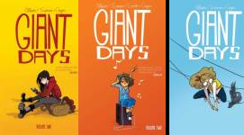 The Giant Days Publication Order Book Series By  John  Allison