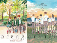 The Orange: The Complete Collection Publication Order Book Series By  Ichigo  Takano