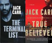 The Terminal List Publication Order Book Series By  Jack  Carr